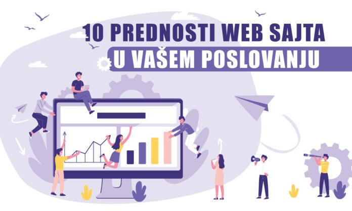 10 prednosi zašto vam je potreban web sajt