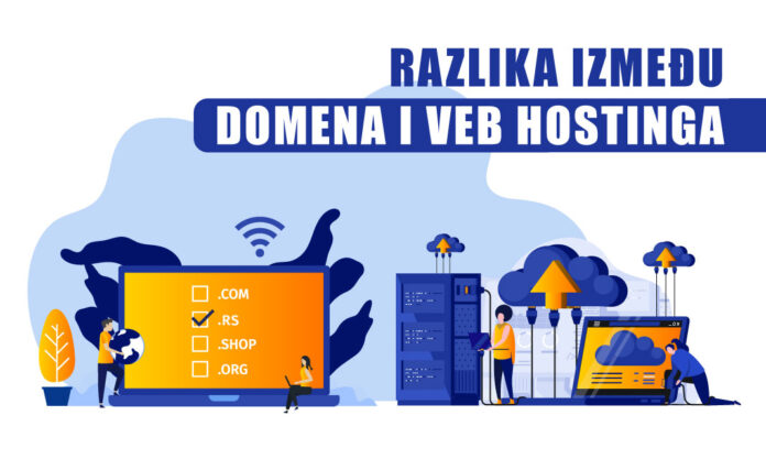 Koja je razlika između domena i veb hostinga
